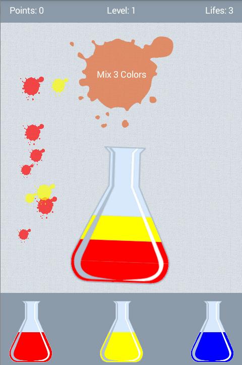 Screenshots of Natural Color Mix